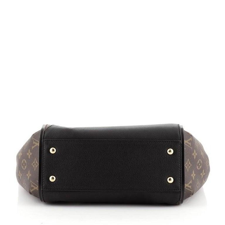Louis Vuitton Kimono Handbag Monogram Canvas and Leather MM For Sale 1