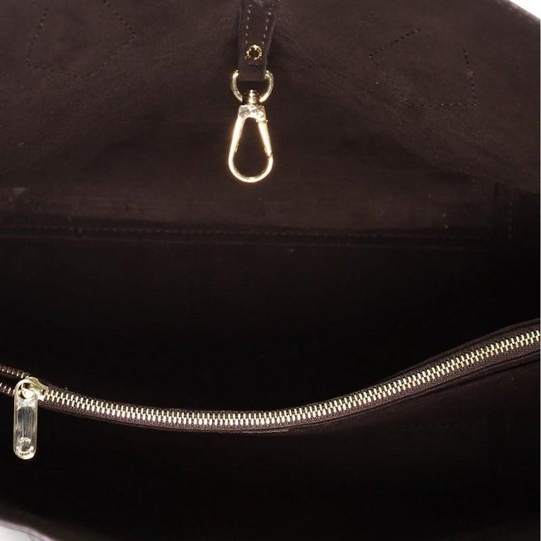 Louis Vuitton Kimono Handbag Monogram Canvas and Leather MM For Sale 2