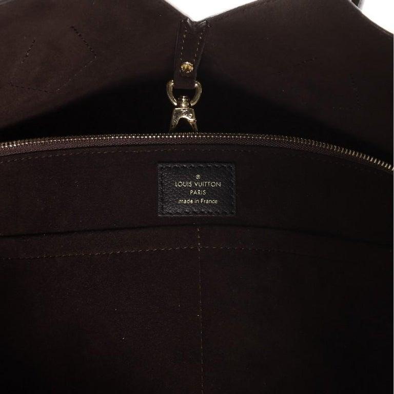 Louis Vuitton Kimono Handbag Monogram Canvas and Leather MM For Sale 3