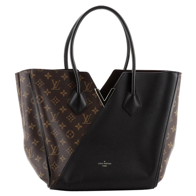 Louis Vuitton Kimono Handbag Monogram Canvas and Leather MM For Sale