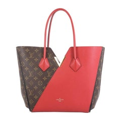 Louis Vuitton Kimono Handbag Monogram Canvas and Leather MM