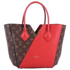 Louis Vuitton Kimono Handbag Monogram Canvas and Leather PM
