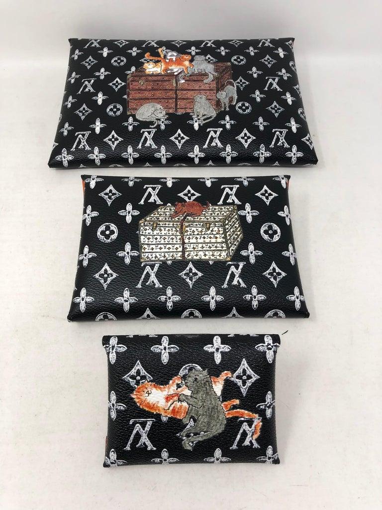 Louis Vuitton Kirigami Catogram Clutch Bag For Sale 5