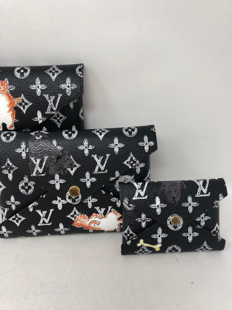 Louis Vuitton Kirigami Catogram Clutch Bag In New Condition For Sale In Athens, GA