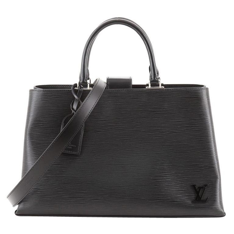 Louis Vuitton Kleber Handbag Epi Leather MM For Sale