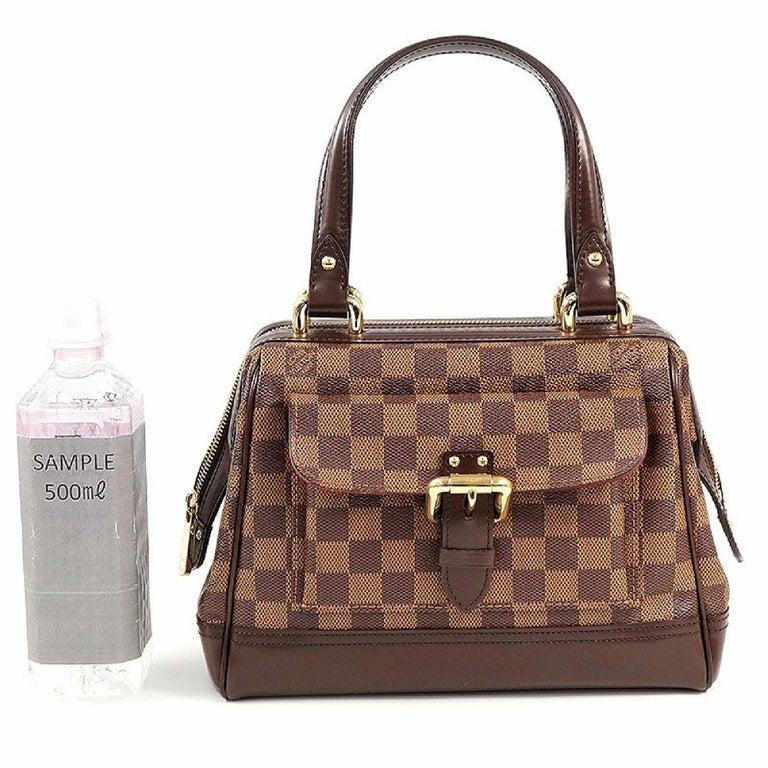 LOUIS VUITTON Knightsbridge Womens handbag N51201 Damier ebene For Sale 8