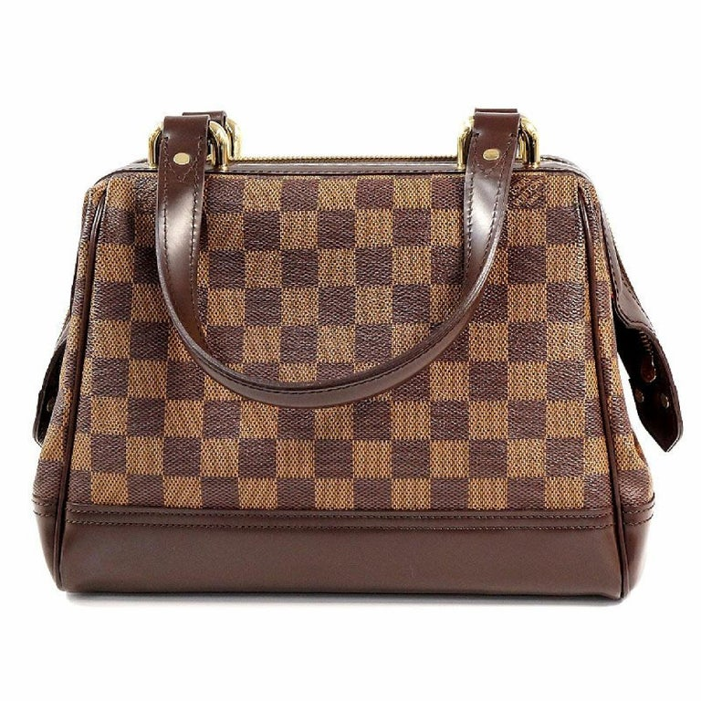 LOUIS VUITTON Knightsbridge Womens handbag N51201 Damier ebene In Excellent Condition For Sale In Takamatsu-shi, JP