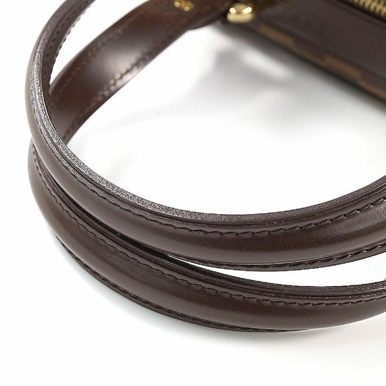 Women's LOUIS VUITTON Knightsbridge Womens handbag N51201 Damier ebene For Sale