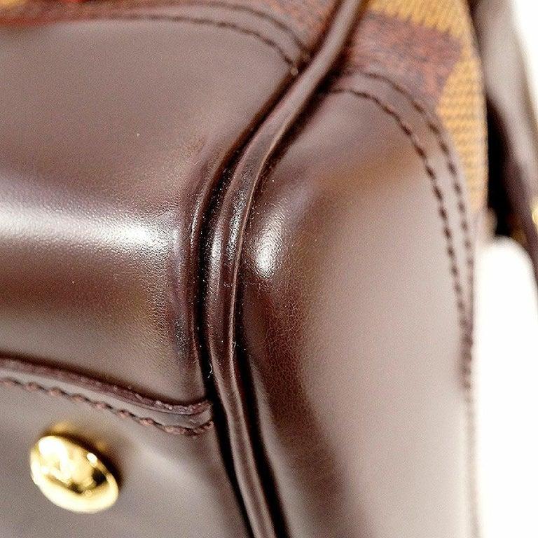 LOUIS VUITTON Knightsbridge Womens handbag N51201 Damier ebene For Sale 2