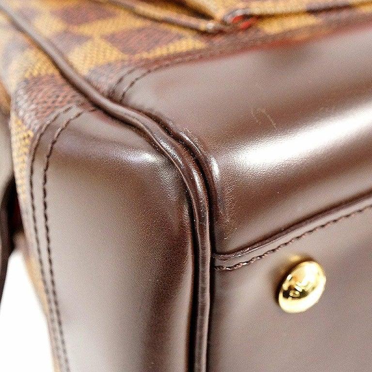 LOUIS VUITTON Knightsbridge Womens handbag N51201 Damier ebene For Sale 3