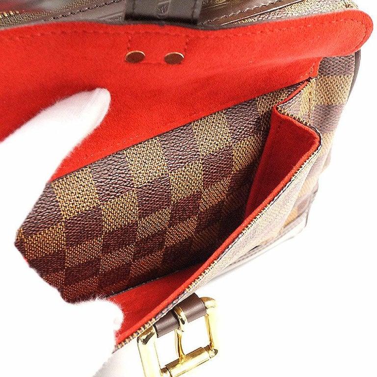 LOUIS VUITTON Knightsbridge Womens handbag N51201 Damier ebene For Sale 4