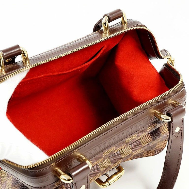 LOUIS VUITTON Knightsbridge Womens handbag N51201 Damier ebene For Sale 5
