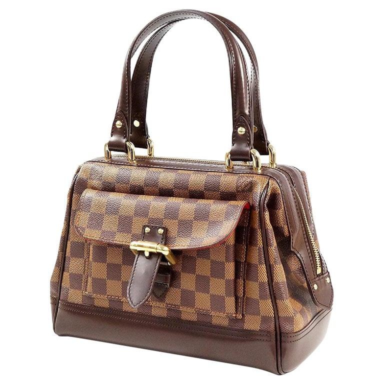 LOUIS VUITTON Knightsbridge Womens handbag N51201 Damier ebene For Sale