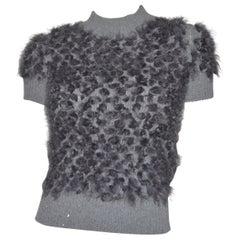 Louis Vuitton Knit Mohair Sweater Vest