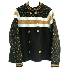 Louis Vuitton Knitted Mono Jacket