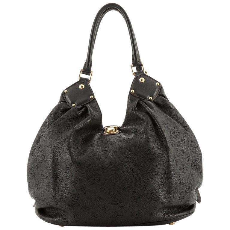 Louis Vuitton L Hobo Mahina Leather For Sale