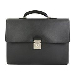 Louis Vuitton Laguito Handbag Taiga Leather,