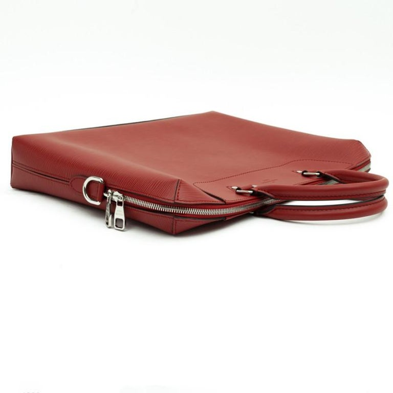 LOUIS VUITTON Leather Day Document Holder In New Condition For Sale In Paris, FR
