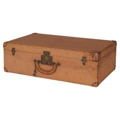 Louis Vuitton Leather Suitcase, circa 1935