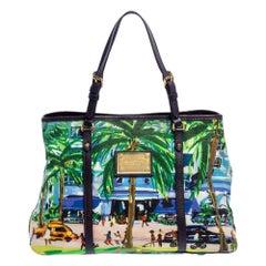 Louis Vuitton Leather Trim Limited Edition Escale Ailleurs Cabas PM Bag