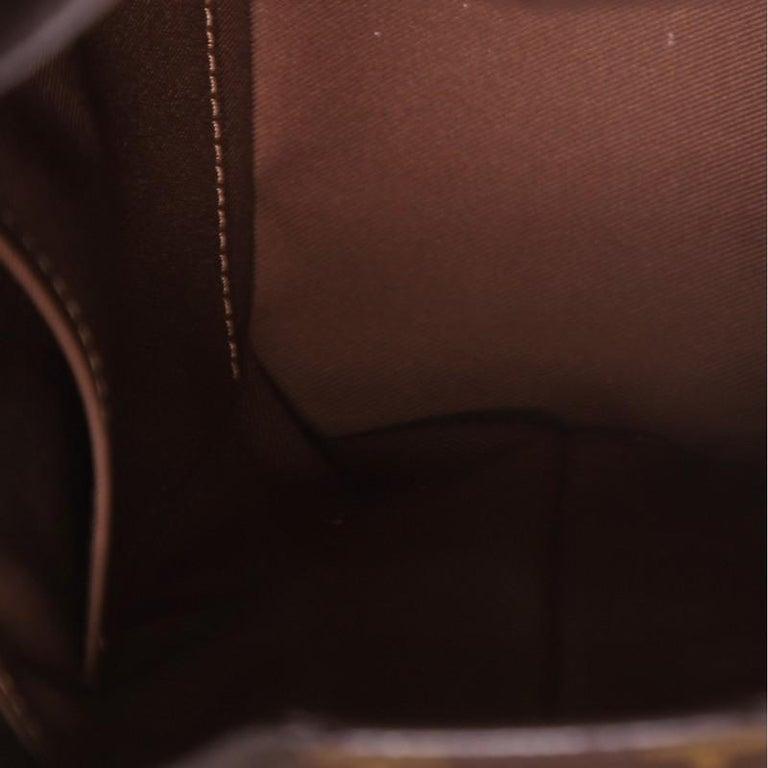 Women's or Men's Louis Vuitton Legacy Milk Box Bag Monogram Canvas For Sale