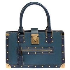 Louis Vuitton Light Blue Suhali Leather Le Fabuleux Bag