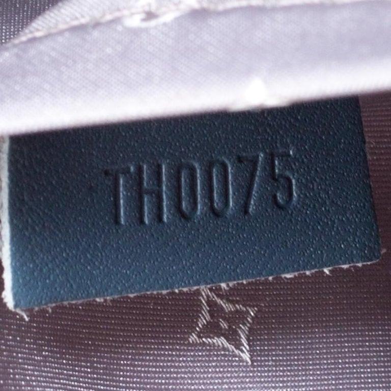Louis Vuitton Light Blue Suhali Leather L'Epanoui GM bag For Sale 3