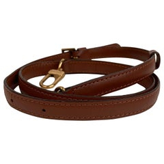 Louis Vuitton Light Brown Leather Shoulder Strap for Small Bags