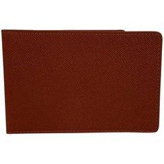 Louis Vuitton Light brown Tan Taiga Leather ID Document Holder