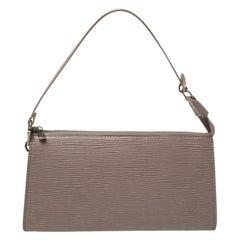 Louis Vuitton Lilac Epi Leather Pochette Accessoires