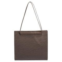 Louis Vuitton Lilac Epi Leather Saint Tropez Bag