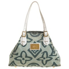 Louis Vuitton Lime Green Tahitienne Cabas Limited Edition PM Bag