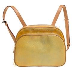 Louis Vuitton Lime Monogram Vernis Murray Backpack