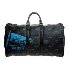Louis Vuitton Limited Edition 127/200 Dubai Keepall Bandouliere 55 Bag