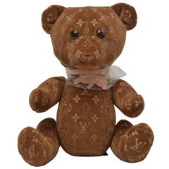 Louis Vuitton Limited Edition 2005 & 2020 Teddy Bear DouDou  New With Tags