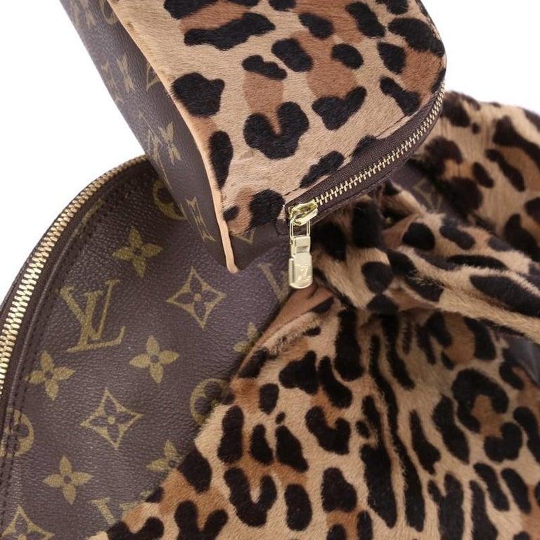 03ce096b21a5 Louis Vuitton Limited Edition Alaia Centenaire Alma Bag Pony Hair and  Monogram C For Sale 3