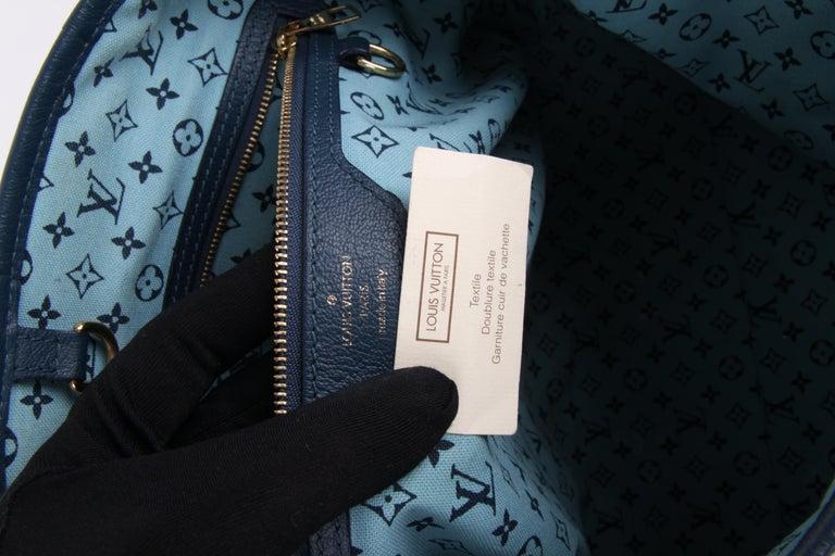 Louis Vuitton Limited Edition Blue Canvas Escale Ailleurs Cabas PM Beach  For Sale 5