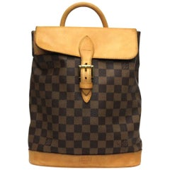 LOUIS VUITTON Limited Edition Centenaire Damier Canvas Soho Backpack Bag