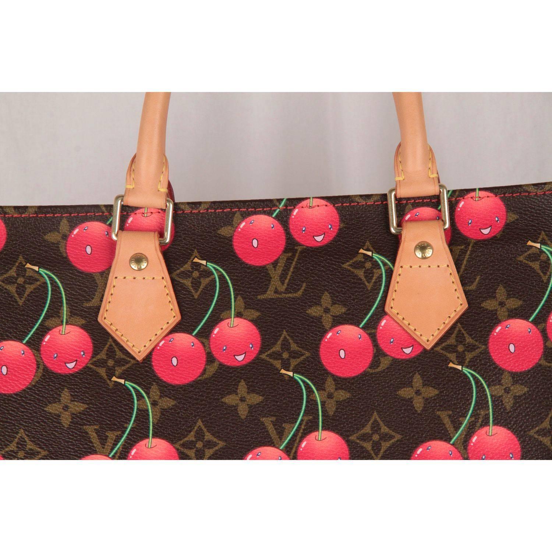 Louis Vuitton Limited Edition Cerises Cherry Sac Plat Gm Bag daFzuuYf c9b86b63b6cfb
