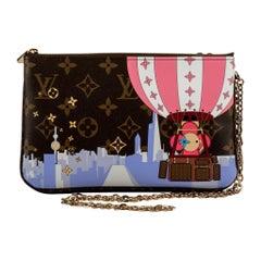 Louis Vuitton Limited Edition Christmas Shanghai Crossbody Bag