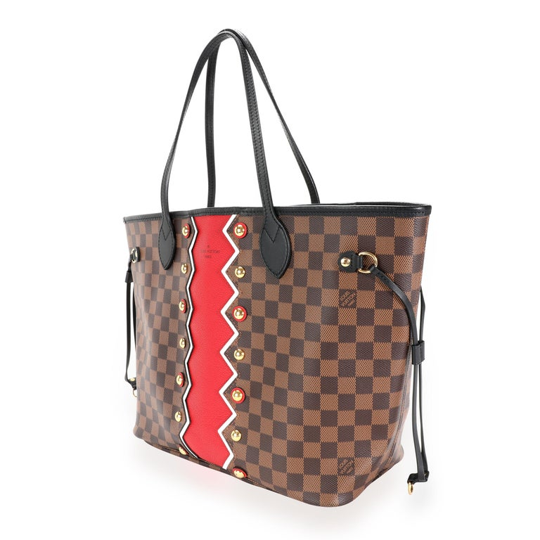 Louis Vuitton Limited Edition Damier Ebene Karakoram Neverfull MM SKU: 112613 MSRP:   Condition: Pre-owned (3000) Condition Description:  Handbag Condition: Very Good Condition Comments: Very Good Condition. Scratching and tarnishing to hardware.