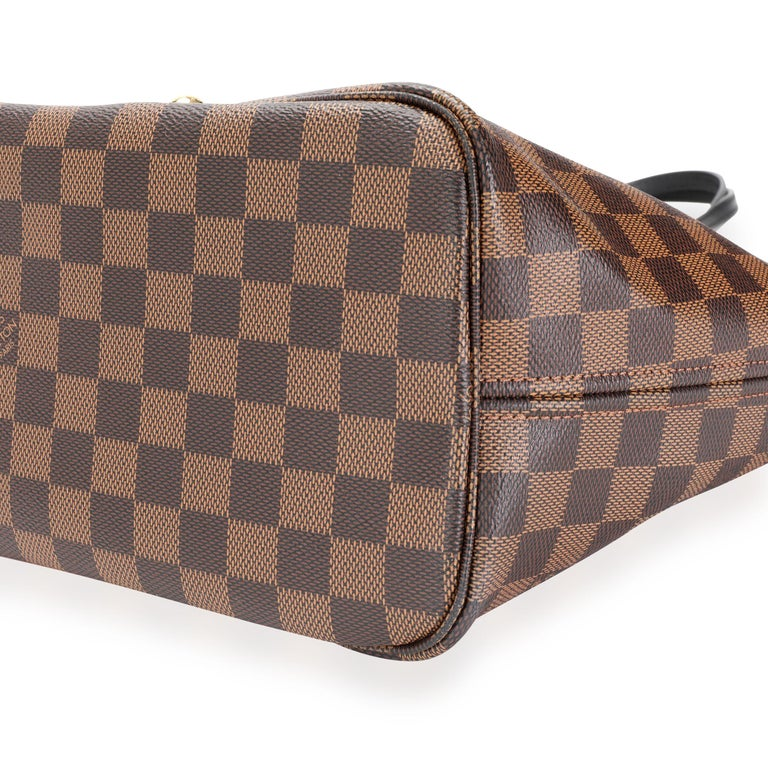 Louis Vuitton Limited Edition Damier Ebene Karakoram Neverfull MM In Excellent Condition For Sale In New York, NY