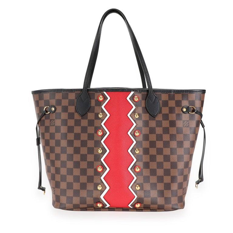 Louis Vuitton Limited Edition Damier Ebene Karakoram Neverfull MM For Sale 2