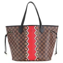 Louis Vuitton Limited Edition Damier Ebene Karakoram Neverfull MM