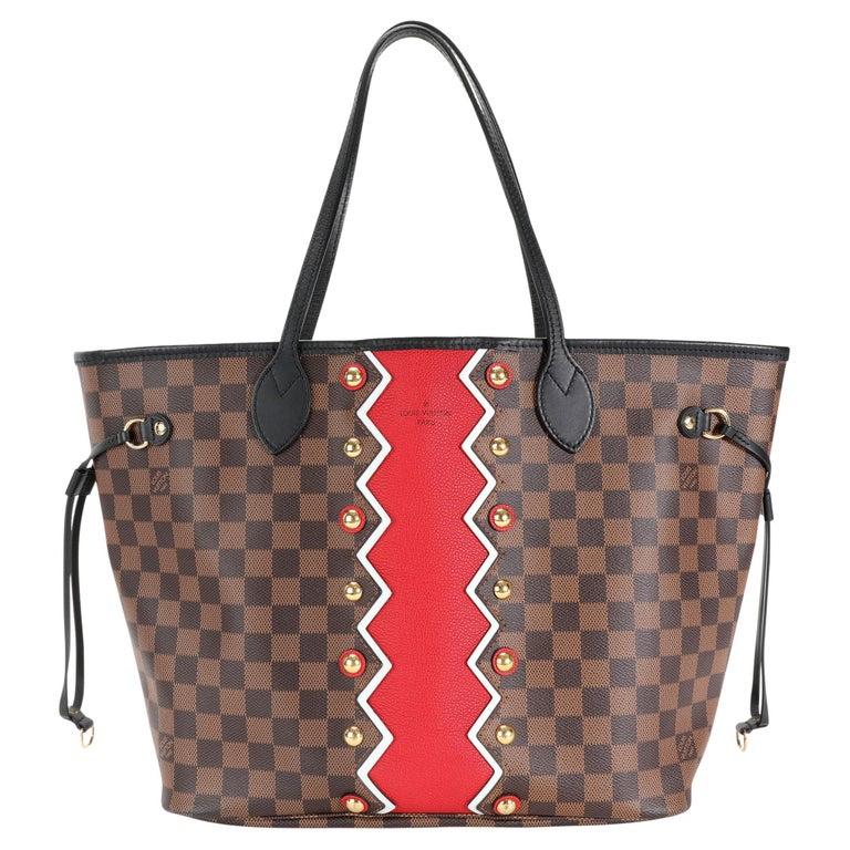 Louis Vuitton Limited Edition Damier Ebene Karakoram Neverfull MM For Sale