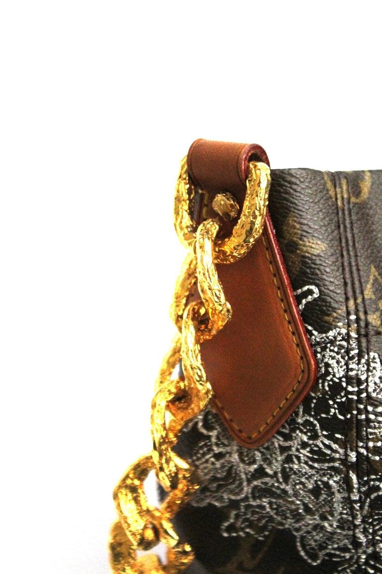 Black Louis Vuitton Limited Edition Dentelle Fersen  For Sale