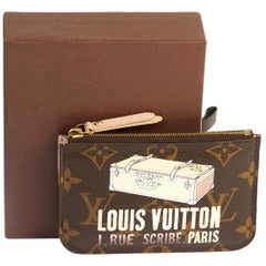 Louis Vuitton Limited Edition  Keychain Pochette with Box