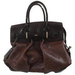 Louis Vuitton Limited Edition Les Extraordinaire alligator handle shoulder bag