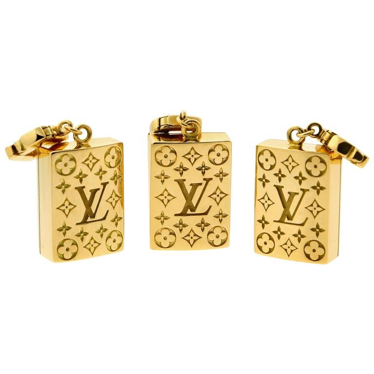 Louis Vuitton Limited Edition Mahjong Tile Gold Set For Sale