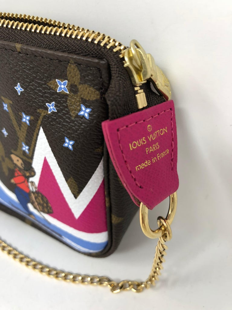 Louis Vuitton Limited Edition Mini Pochette In New Condition For Sale In Athens, GA